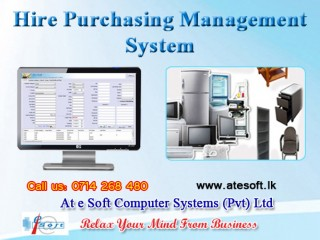 Hire purchasing management system
