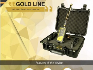 Gold Line faster device for gold searching