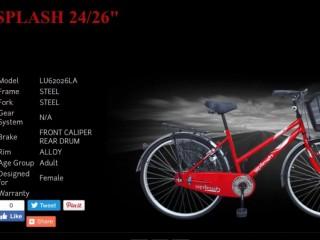 Lumala Splash Ladies bicycle for quick sale