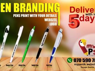 Pen Printing & Engraving