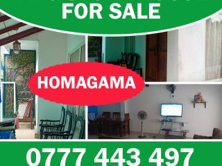 Two story house for sale in Homagama