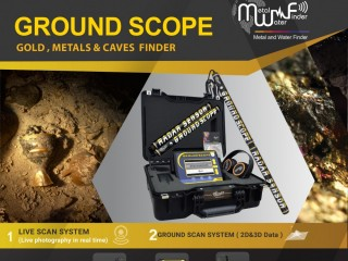 Ground Scope gold detector with 3D system