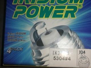 Denso spark plug IK-20 (equivalent NGK IZFR6K-13)