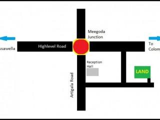 Land for Sale Meegoda, Highlevel Road