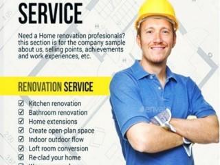 Home Renovation & Construction Service